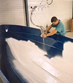 Gelcoat Spray-up